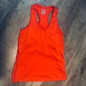 Lucky in Love Red Athletic Tank Build In Support